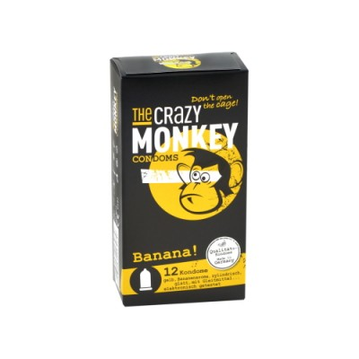 Kondomi THE CRAZY MONKEY Banana