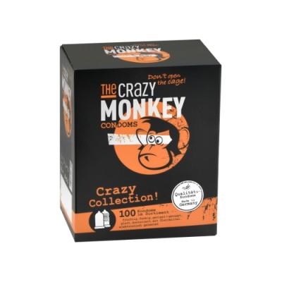 Kondomi THE CRAZY MONKEY Crazy Collection