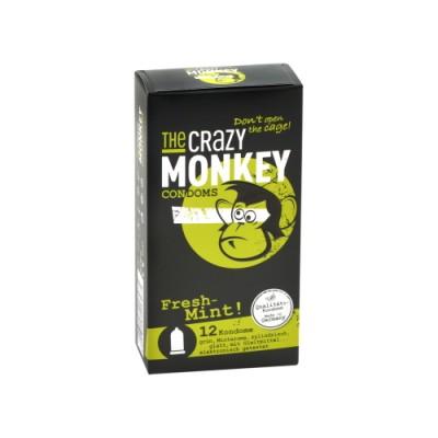 Kondomi THE CRAZY MONKEY Fresh Mint