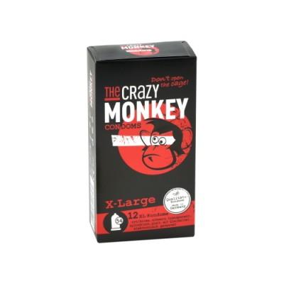 Kondomi THE CRAZY MONKEY X-large
