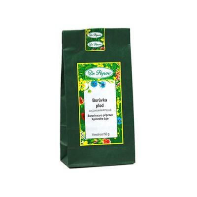 Borovnice, sušeni plodovi, čaj, 50 g