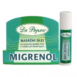 Migrenol roll-on ulje za masažu, 6 ml