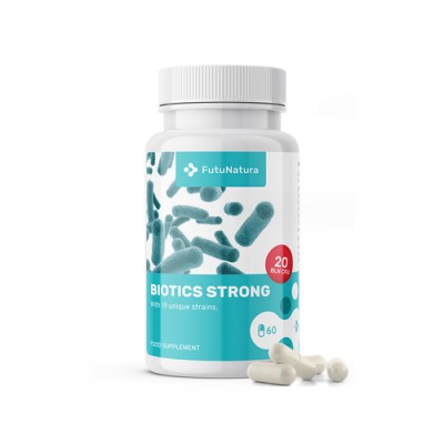 Probiotici Biotics strong prebiotici