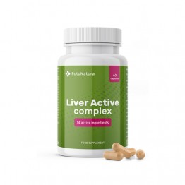 Liver Active kompleks, 60 kapsula