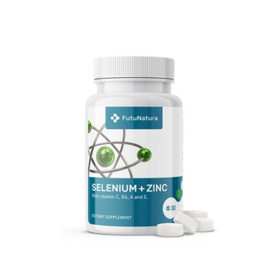 Selen + cink + vitamini