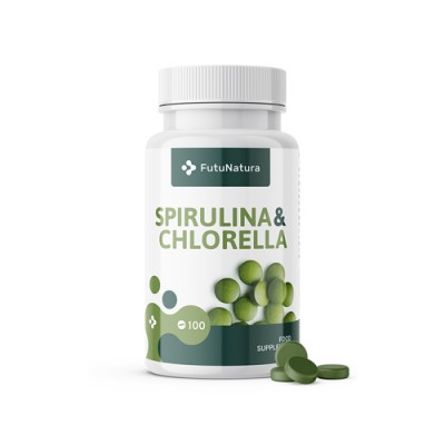 Alge Spirulina + Chlorella