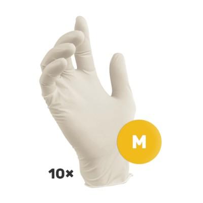 Lateks rukavice M