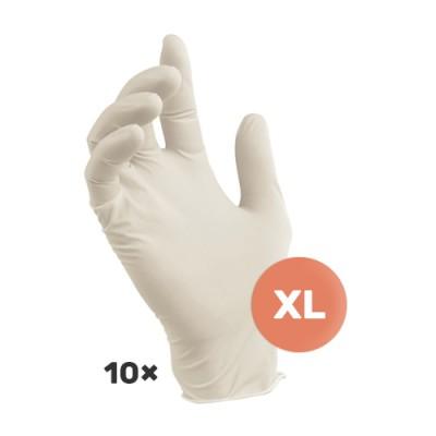 Lateks rukavice XL