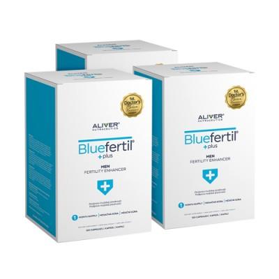 3x BlueFertil - muška plodnost