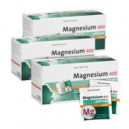 3 x Magnezij 400 mg, 60 vrećica