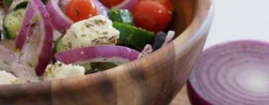 LCHF grčka salata