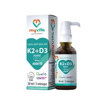 Vitamin K2 + D3 kapi