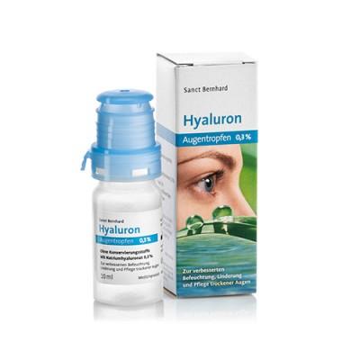 Kapi za oči s hijaluronom