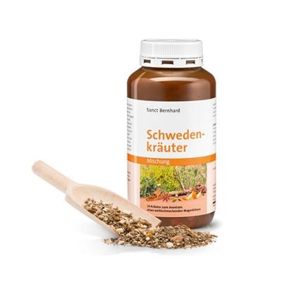 Suho bilje za pripremu švedske grenčice