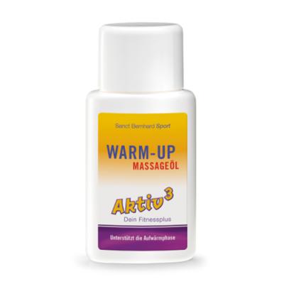 Ulje za masažu za zagrijavanje prije tjelovježbe