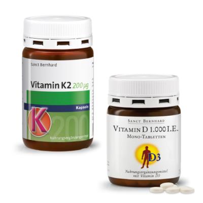 Vitamin K2 + D3 komplet