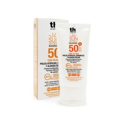 Krema za sunčanje s atopičnom kožom lica SPF 50+