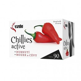 Chilli Active, 90 tableta
