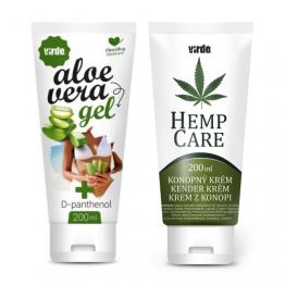 Set: Lijepe kože (Aloe Vera gel + Krema od konoplje)