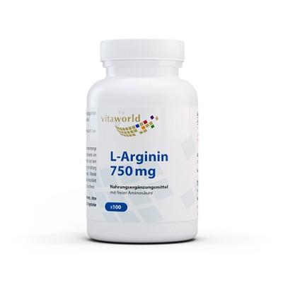 L-arginin 750 mg