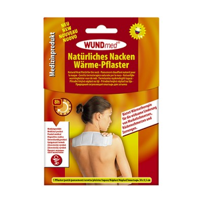 Prirodni toplinski flaster za vrat i ramena, 1 komad