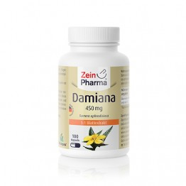 Damiana 450 mg, 100 kapsula