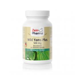 Divlji Jam s vitaminom E i cinkom, 120 kapsula