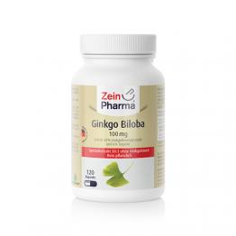 Ginko biloba 100 mg, 120 kapsula