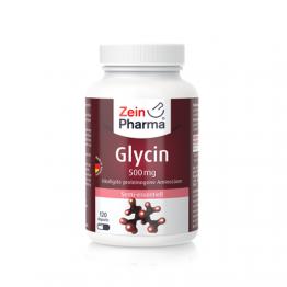 Glicin 500 mg, 120 kapsula
