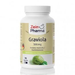Graviola 500 mg, 90 kapsula