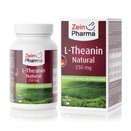 L-Teanin 250 mg, 90 kapsula