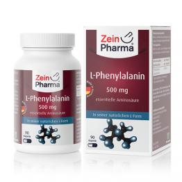 L-fenilalanin 500 mg, 90 kapsula