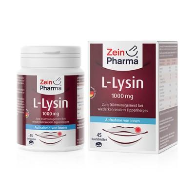 L-lizin, 45 tableta za žvakanje