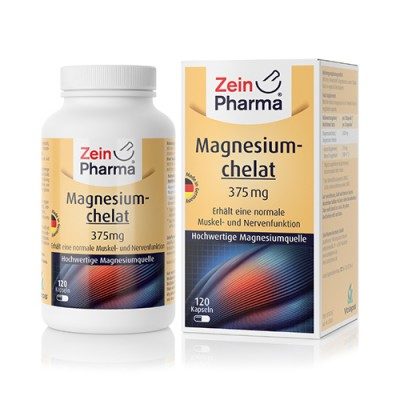 Magnezijev kelat 375 mg, 120 kapsula