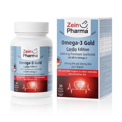 Omega 3 Gold Kardio, 30 kapsula