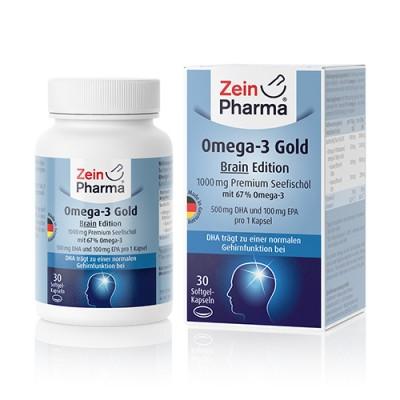 Omega-3 Gold – mozak, 30 kapsula