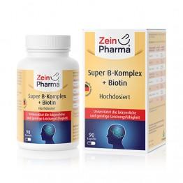 Super B-kompleks + Biotin, 90 kapsula