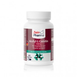 Acetil-L-karnitin 500 mg, 60 kapsula