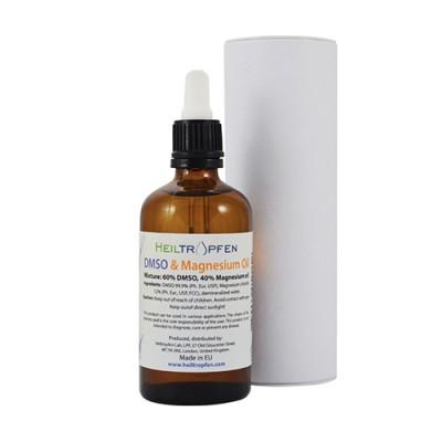 DMSO + magnezijevo ulje s kapaljkom